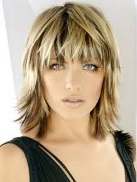 haircut for wispy hair medium choppy haircuts blonde medium length choppy shag haircut