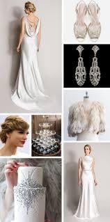 monday moodboard glamorous silver 1930s art deco wedding