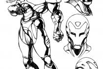 iron man 2 coloring pages free printable man coloring pages