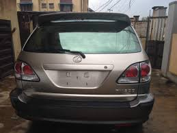lexus rx300 clean tokunbo lexus rx300 2003 model for sale 2 3m price