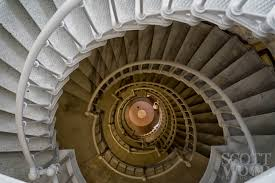 Looking Down Stairs by City Architecture Scott Wood Photography