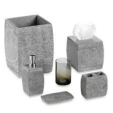 Bathroom Cabinets Bed Bath And Beyond Cole Reaction Home Slate Bath Ensemble Bedbathandbeyondcom Bath