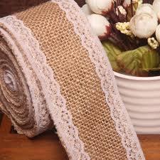 aliexpress com buy 10meters natural jute burlap hessian ribbon