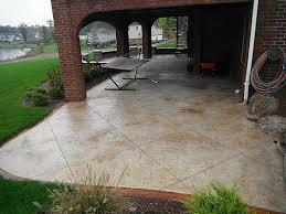 Concrete Backyard Patio by Amazing Concrete Designs For Patios About Minimalist Interior Home