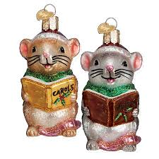 mouse ornament world