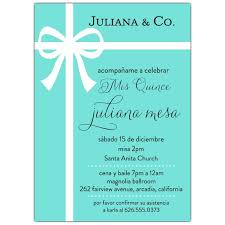 quince invitations blue bow mis quince invitations paperstyle