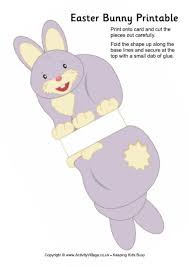 3d easter bunny printable u2013 craftbnb
