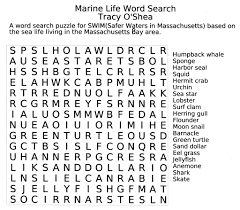7 best images of fun printable puzzles large print word search