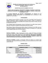 liquidacion de impuesto vehicular funza decreto 056 2015 liquidación presupuesto para 2016 by macheta issuu