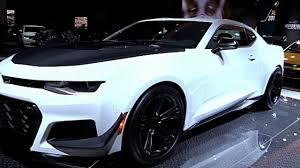 2018 chevrolet camaro zl1 1le white edition car preview youtube