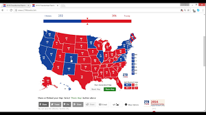 2016 Presidential Election Map 2016 Election Results Reaction My Prediction Vs Final Results