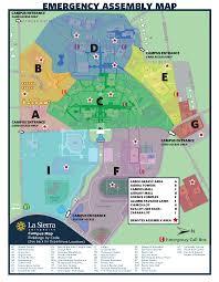 Lsu Campus Map Campus Maps Risk Management La Sierra University