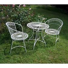 Garden Bistro Table Bistro Garden Table And Chairs Homegenies Garden Bistro