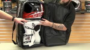 fly motocross helmet fly racing tour wheeled gear bag review youtube