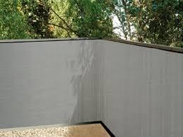 balkon sichtschutz grau de balkonsichtschutz grau 90x300 kunststoff