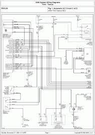 wiring diagram for a 2002 ford taurus ses ford wiring diagrams