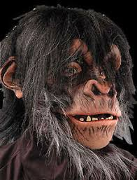 Realistic Halloween Costumes Realistic Chimp Monkey Ape Moving Mouth Halloween Costume Mask