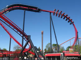 Six Flags Great America New Ride Newsparcs X Flight A New Wing Coaster From Bolliger