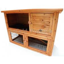 Double Decker Rabbit Hutch Double Storey Rabbit Hutch Medium Bono Fido For Sale Buy