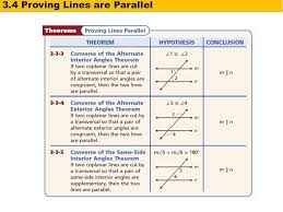 Same Side Interior Angles Postulate 3 4 Proving Lines Parallel Holt Geometry Warm Up Warm Up Lesson