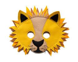 lion mask for kids monkey mask children jungle animal mask ape mask felt mask