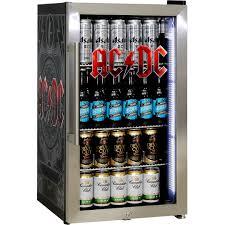 glass door bar fridge acdc rock band triple glazed alfresco bar fridge with great design