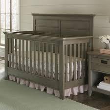 Morgan Convertible Crib by Brixy Oak Park Convertible Crib In Shale Specialty Baby