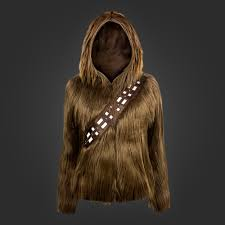 spirit halloween chewbacca chewie hoodie offers the finest star wars wookiee wear geek com
