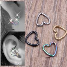 hoop cartilage piercing cartilage piercing hoop earrings online cartilage piercing hoop