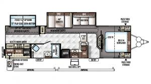 Rockwood Trailers Floor Plans Rockwood Signature Ultra Lite 8312ss Travel Trailer Floor Plan