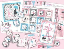 baby showerdiy chic paris baby shower diy party printables