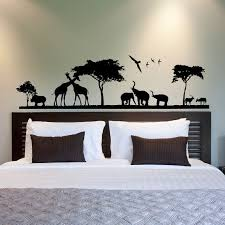 Safari Nursery Wall Decals Safari Wall Decal Jungle Wall Decal Animal Wall Decal Stickers