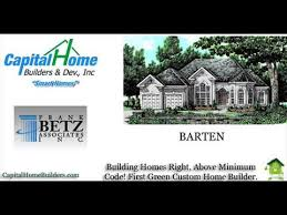 Home Builders House Plans Capital Home Builders House Plans By Frank Betz Associates And