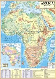 africa map physical africa physical map at rs 120 model basti new delhi