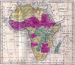 Africa Map Rivers Africa Historical Maps Perry Castañeda Map Collection Ut
