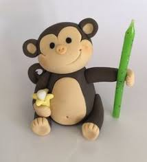 monkey cake topper how to make a monkey cake topper jak zrobić małpkę z masy