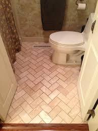 herringbone tile floor floor transition laminate to herringbone