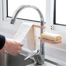 fourniture de cuisine un ensemble robinets de vidange rack évier rack de stockage de