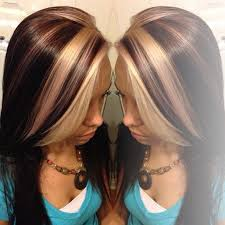 how to add colour chunks to hairstyles 39 best hairstyles images on pinterest colourful hair hair