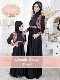 desain baju gaun anak contoh desain baju muslim modern ibu dan anak citra muslima