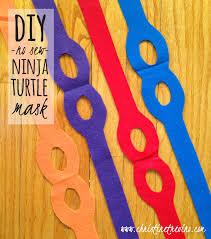 Ninja Turtle Halloween Costume Toddler 21 Easy Diy Halloween Masks Complete Costume Ninja