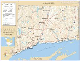 Connecticut Rivers images Reference maps of connecticut usa nations online project jpg