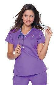 sugar plum top scrubs uniforms