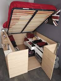 platform bed with storage diy queen modules headboard 2018