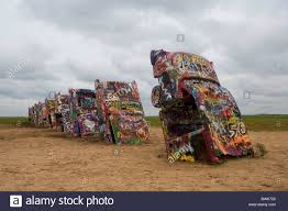 cadillac ranch carolina usa america united states america amarillo route 66