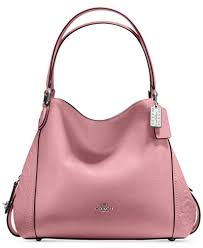 Rose 31 Coach Edie Shoulder Bag 31 In Glovetanned Leather With Tea Rose
