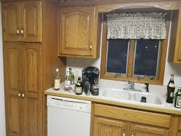 update oak kitchen cabinets how do i update an oak kitchen without painting the