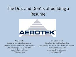 Dos And Donts Of Resume The Do U0027s And Don U0027ts Of Building A Resume Kasi Lavely Recruiter