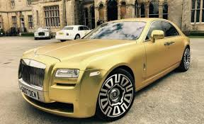 rolls royce phantom price this matte gold rolls royce can be yours for just 16 bitcoins