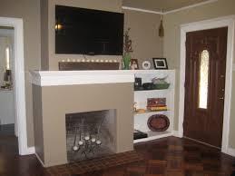 Modern Fireplace Living Room Inspiring Modern Fireplace Mantel Ideas With Tv